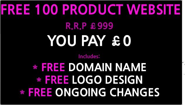 free 100 product website design