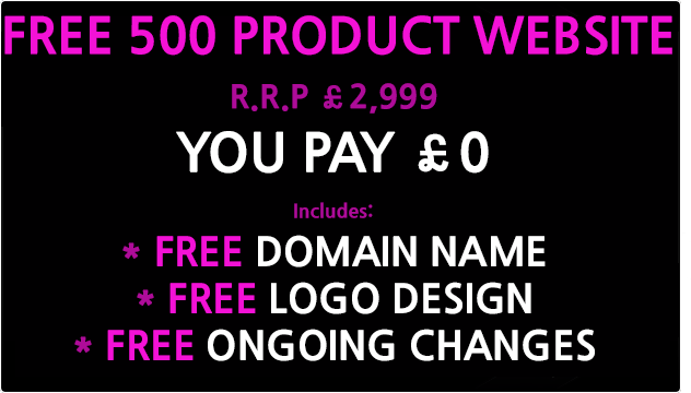 free 500 product website design