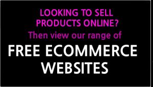 free ecommerce website design